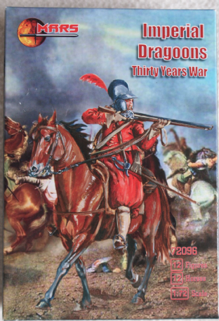 Mars 1/72 MAR72096 Imperial Dragoons (30 Years War)
